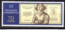 DDR 1973 Mi. 1828 ** Nikolaus Kopernikus Postfrisch (br1894) - [6] Democratic Republic