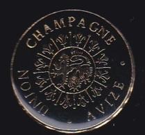 65902- Pin's.Avize, L'Union Champagne - Boissons