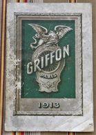 92 COURBEVOIE 75 Paris 17e 51 SEZANNE  F. MAYET Catalogue GRIFFON 1913 Cycles Motocyclettes Etat - Radsport