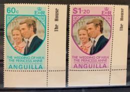ANGUILLA  - MNH**   - 1973 - # 179/180 - Anguilla (1968-...)