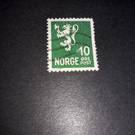 """FO08 NORVEGIA 1926-29 LEONE RAMPANTE 10 ORE """"O"""" - Norvegia"""