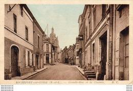 D49  ROCHEFORT SUR LOIRE  Grande Rue Et Le Clocher - France