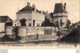D49  ANGERS  12 Rue Voltaire Carte Publicitaire Sur Carte De Les Ponts De Cé - Les Ponts De Ce