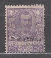 Eritrea - Correo Yvert 27 * Mh - Eritrea
