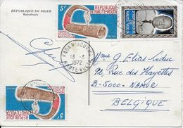 HAUTE-VOLTA ..-- 35 Fr + 2x 5 Fr . 1972 . - Obervolta (1958-1984)