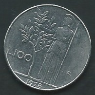 ITALIE   --  ITALIA - 100 Lire 1978  Pia 23503 - 1946-… : Republic