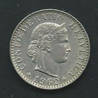 SUISSE - 20 Rappen - 1962                  Pia 23509 - Suisse