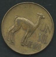 PERU 1 SOL 1967            Pia 23511 - Pérou