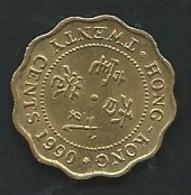 Hong Kong 20 Cents 1990    Pia 23513 - Hongkong