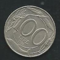 ITALIE : 100 LIRE 1996   Pia 23514 - 1946-… : Republic