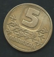 Finland 5 Markkaa 1984              Pia 23510 - Finlandia