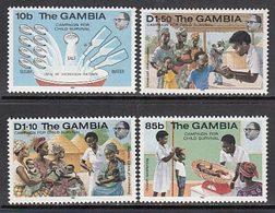 Gambia - Correo 1985 Yvert 532/5 ** Mnh  Medicina - Gambia (1965-...)