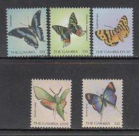 Gambia - Correo 2000 Yvert 3162/6 ** Mnh  Fauna Mariposas - Gambie (1965-...)