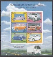 Gambia - Correo 2000 Yvert 3385DZ/EE ** Mnh  Autom�viles - Gambie (1965-...)