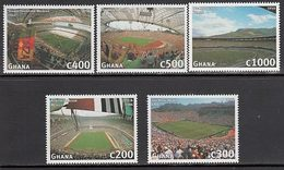 Ghana - Correo 1997 Yvert 2083/8 ** Mnh  Deportes F�tbol - Ghana (1957-...)
