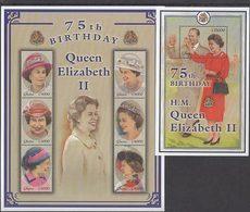 Ghana - Correo 2001 Yvert 2688/93+H.408 ** Mnh  Isabel II - Ghana (1957-...)