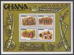 Ghana - Correo 2001 Yvert 2747/2750 ** Mnh  Instrumentos De M�sica - Ghana (1957-...)