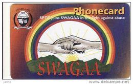 Swaziland, Chip, SWAGAA, Expiry Date 28.02.2006 - Swaziland