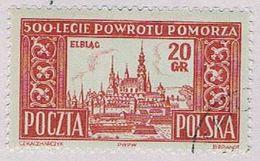 Poland 639 MLH Elbiag 1954 CV 2.10 (BP51913) .. - Non Classés