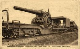 Brasschaet-Polygone - Gepantserde Trein Groot Canon - Train Blindé Grand Canon  1914/15 WWI WWICOLLECTION - Brasschaat