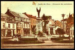 SPA - Jardin Des Roses - Monument Des Combattants - Circulé - Circulated - Gelaufen - 1927. - Spa