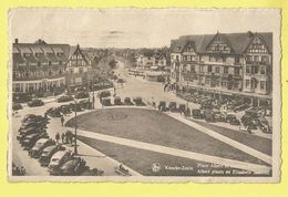 * Knokke Zoute - Knocke (Kust - Littoral) * (Nels, Ern Thill, Nr 110) Place Albert Et Avenue Elisabeth, Oldtimer, Hotel - Knokke