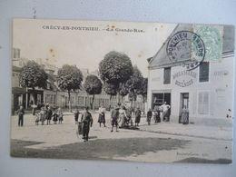 Crecy En Ponthieu  Boulangerie Boulnois  Grande Rue - Crecy En Ponthieu