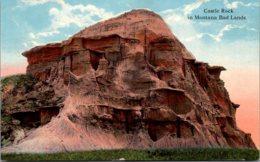 Montana Bad Lands Castle Rock - Etats-Unis