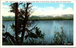 Montana Flathead Lake Curteich - Etats-Unis