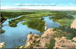 Montana Three Forks Source Of The Missouri River - Etats-Unis