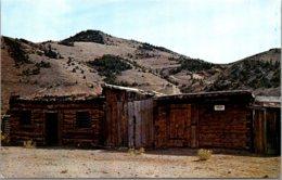 Montana Bannock First Jail In Montana Constructed In 1862 - Etats-Unis