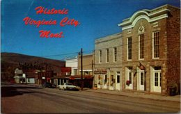 Montana Virginia City Main Street Scene - Etats-Unis