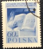 Polska - Poland - Polen - P1/9 - (°)used - 1955 - 50 Jaar Lerarensyndicaat - Michel Nr. 953A - Used Stamps