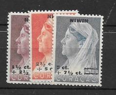 1947 MNH Curacao NVPH 182-4 - Niederländische Antillen, Curaçao, Aruba