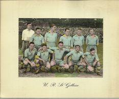 ***  U. R. St. GILLOISE   ***  -  Oude Voetbal Prent - Groot Formaat ! ! ! ! - St-Gilles - St-Gillis