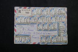 CONGO - Enveloppe En Recommandé De Kinkala Pour La France En 1978, Affranchissement Recto / Verso -  L 64464 - Congo - Kinshasa