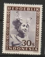 Repoeblik Indonesia 1948  30 Sen MH* Ongestempeld - Indonesien