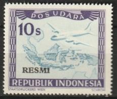 1949 Republik Indonesia Service - RESMI 10 Sen POS UDARA MNH** Postfris - Indonesia