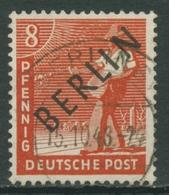 Berlin 1948 Schwarzaufdruck 3 Gestempelt - [5] Berlin