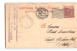 13864 CARTOLINA CAMERA DEI DEPUTATI - DEPUTATO DI MIRAFIORI - AUTOGRAFO  TORINO X SANTO STEFANO BELBO - Postwaardestukken