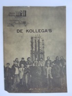 Programma Boekje 1976 De Kollega's MMT Mechels Miniatuur Teater 15 Pagina's A4 Formaat  Mechelen Staat Zie Foto's - Programme