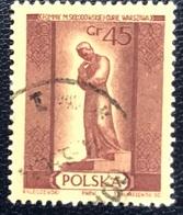 Polska - Poland - Polen - P1/10 - (°)used - 1955 - Marie Curie - Michel Nr. 912 - Berühmt Frauen