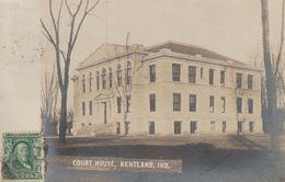 Kentland - Court House - Carte Photo - Etats-Unis