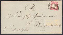 BRUSTSCHILD Nr.19 Doppelt Verwendeter Brief Sauberer Hannover-Ra2 WITTMUND Innen Ra3 GÖDENS-NEUSTADT IN HANNOVER (bb20) - Briefe U. Dokumente