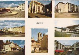 95 LOUVRES Multivue ,voiture Année 1960 , Citroen - Louvres