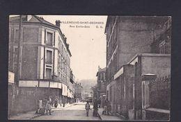 Villeneuve St Saint Georges (94) Rue Emile Zola ( Animée 42581) - Villeneuve Saint Georges