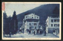 Cartolina Levico, Viale Vittorio Emanuele III - Other Cities