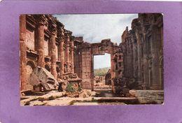 LIBAN BAALBEK Intérieur Du Temple De Bacchus - Lebanon