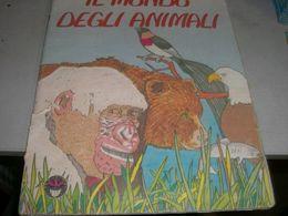 ALBUM FIGURINE IL MONDO DEGLI ANIMALI -EDITORE JOKER - Vignettes Autocollantes