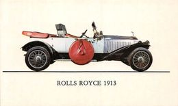 Rolls Royce 1913 Silvery Ghost, Voiture Auto Car - Autres